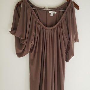 Brown Boston Proper Dress Size XS